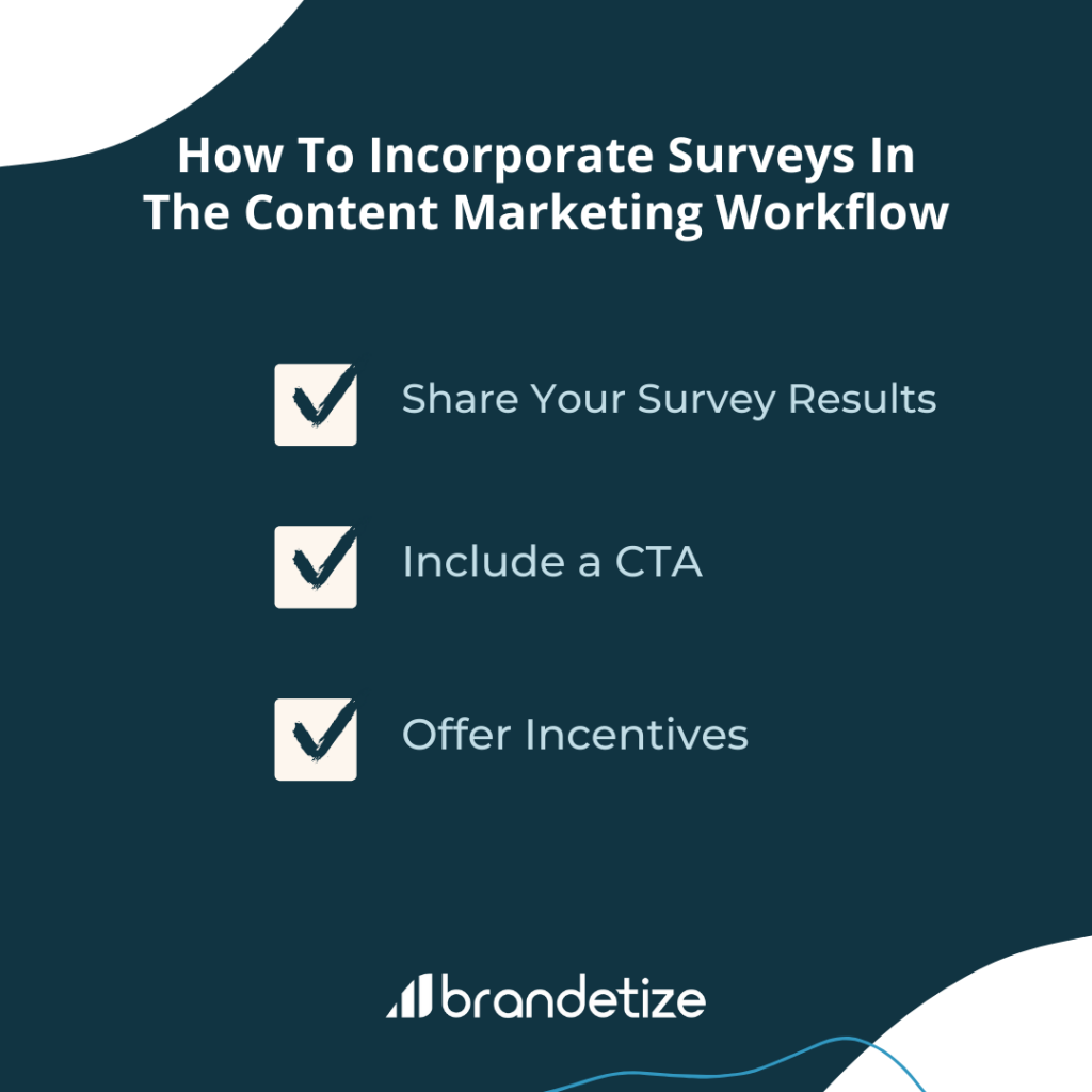 how to incorporate surveys